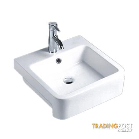 Lithgow Semi Recessed Basin