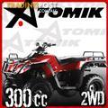 QUAD BIKE 300 cc KRUSHER NEW JUST NEVER USED HAS 22hrs ON IT WITH WINCH