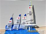 Radio Controlled Laser Model Yacht