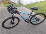 21 speed Malvern star Hurricane mountain bike
