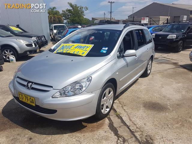2003 Peugeot 307 XSE T5 MY03 5D Hatchback for sale in Fairfield East ...
