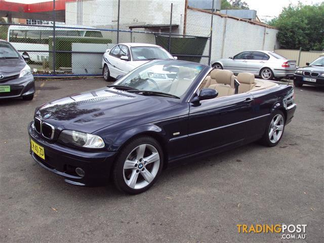 BMW CI E D CONVERTIBLE For Sale In Punchbowl NSW - 2002 bmw 330 convertible