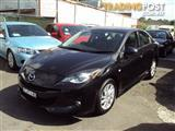 2012 MAZDA MAZDA3 SP20 SKYACTIV LUXURY BL MY13 4D SEDAN