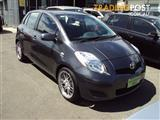 2009 TOYOTA YARIS YRS NCP91R 08 UPGRADE 5D HATCHBACK