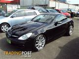 2007 MERCEDES-BENZ SLK 350 R171 2D CONVERTIBLE