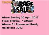 HUGE GARAGE SALE | SUNDAY 30 APRIL | 8AM-1PM | 61 ROSAMOND ROAD MAIDSTONE 3012