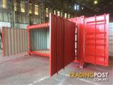 20 Foot Double Sided Door Container – ABSOLUTE VERSATILITY