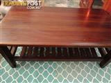 Bali style coffee table