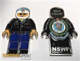 New South Wales Police Force Highway Patrol Lego Challenge Coins (3)