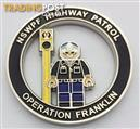 New South Wales Police Force 'Operation Franklin' Challenge Coin