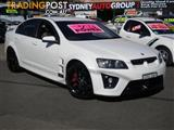 2006 HOLDEN SPECIAL VEHICLE CLUBSPORT R8 E SERIES 4D SEDAN