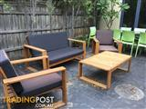 4 Piece Outdoor Setting