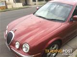 2001 JAGUAR S TYPE V6 SE 4D SEDAN