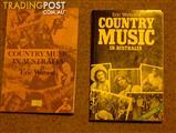 History of Australian Country Music (2 Vols) Plus other CM Books