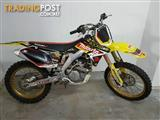 2007  SUZUKI RM-Z250 MOTOCROSS  CYCLE