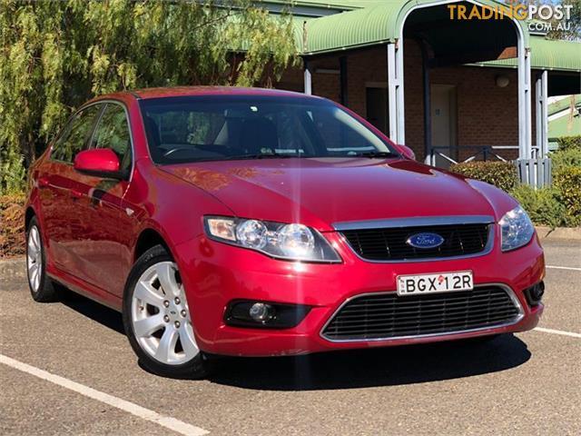 2008 Ford Falcon G6 Fg Sedan For Sale In Minchinbury Nsw 2008 Ford