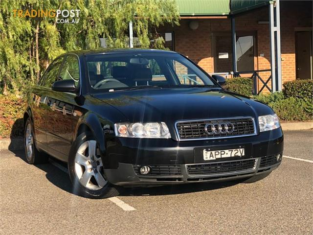 Audi A B Sedan For Sale In Minchinbury NSW Audi A B - 2003 audi a4