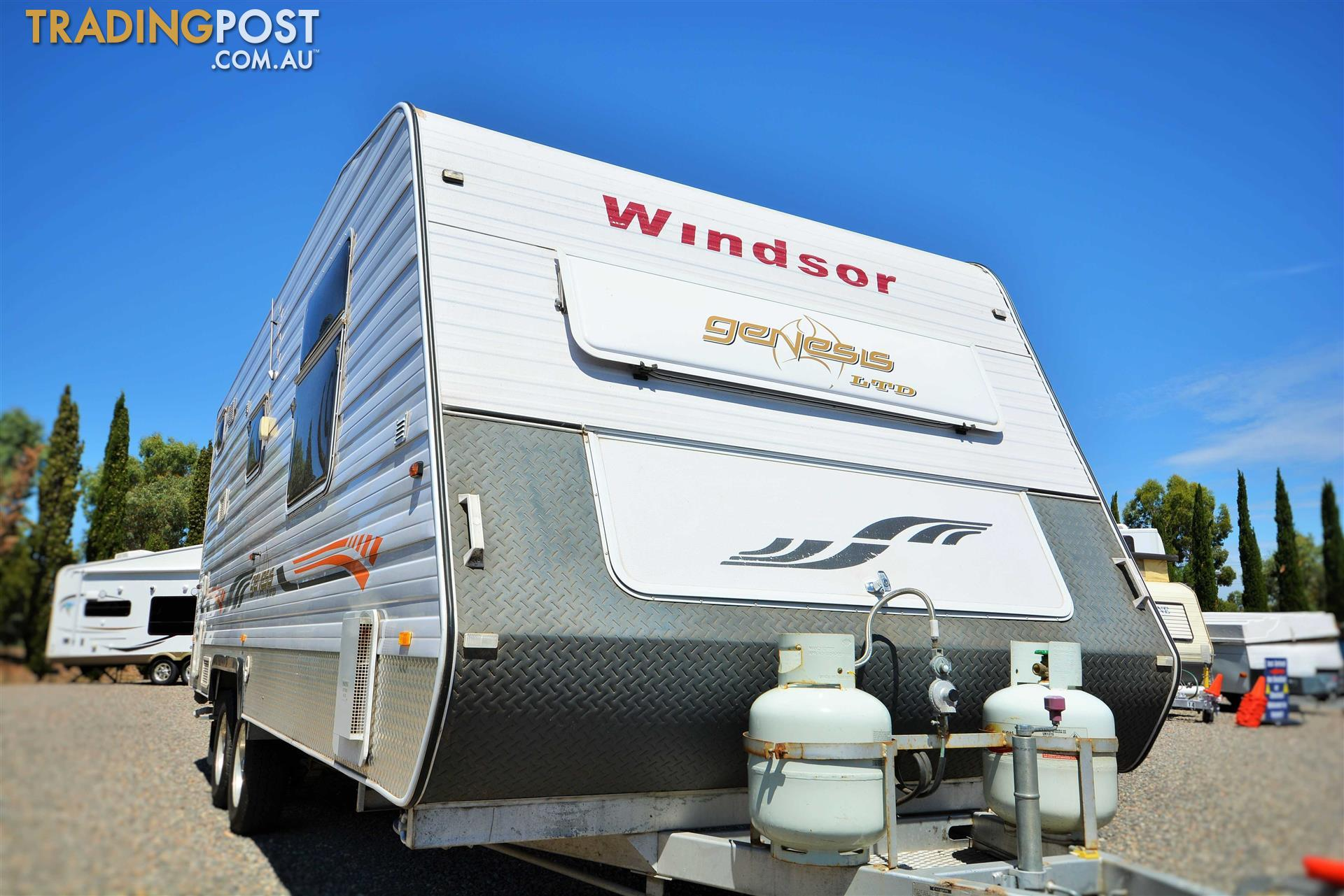 2010 Windsor Genesis Ltd Full Caravan 72 For Sale In