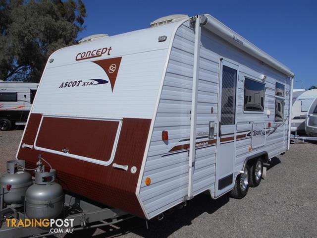 2008 Concept Ascot Xls Full Caravan 131 For Sale In