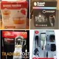 BRAND NEW ALL STILL IN THERE BOXES SUNBEAM - RUSSELL HOBBS - GEORGE FORMAN - REMINGTON - KAMBROOK