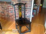 Chinese black lacquer table/Mahjong table
