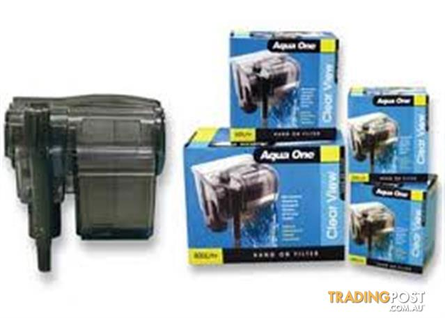 YXY2 Aqua One canisters & filters & accessories stockist