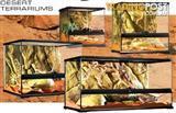 Reptile Terrariums and Dessertariums