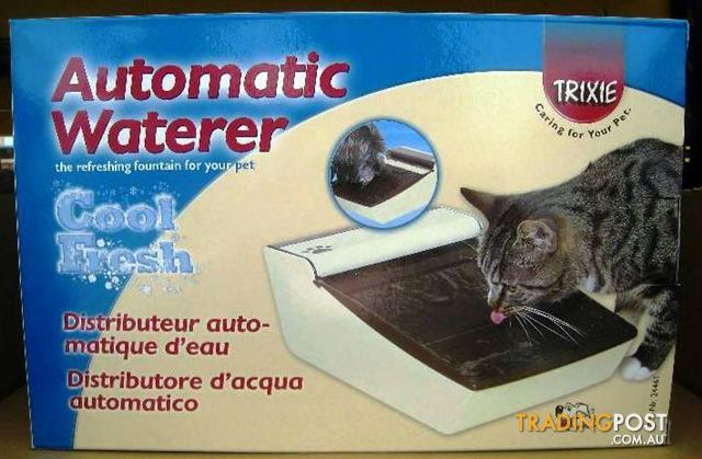 WXW2 Automatic Cat Waterer, Continuous Running Water.