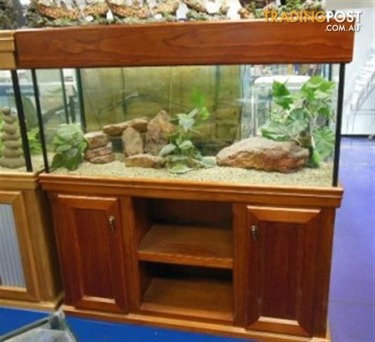 YXY2 Aquarium Raw Pine Cabinets in Stock