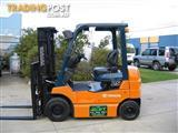 Forklift ..... TOYOTA 2.5t with Container Mast