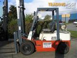 **Forklift** NISSAN  2.5t  LPG with Sideshift