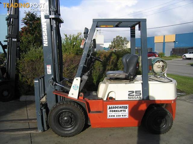 Forklift NISSAN 25t LPG With Sideshift