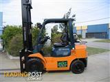 Forklift LPG TOYOTA 42-7FG25 with 5.00 mtr lift