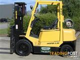 Forklift LPG 2.5t  HYSTER with Container mast