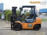 Forklift 2.5t LPG TOYOTA with Container Mast