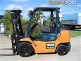 Forklift 2.5t TOYOTA  LPG with Container Mast