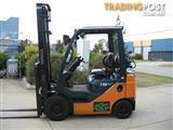 """Forklift  """" TOYOTA """" 1.8T LPG **DELUXE MODEL**"""