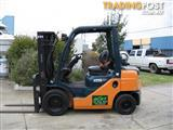 Forklift-Reach Truck  TOYOTA 6FBRE14 with 6 mtr lift