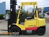 ** Forklift ** Hyster 2.5t LPG with 6 mtr lift and side shift