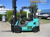 FORKLIFT MITSUBISHI 1.8t with LOW HOURS