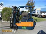Toyota 7FBE15 Battery/Electric Forklift with Container Mast