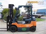 FORKLIFT TOYOTA 7FB25  **LOW HOURS**