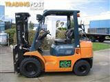 Forklift    ** TOYOTA 2.5t LPG with Container Mast