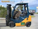 FORKLIFT TOYOTA 1.8t LPG with CONTAINER MAST