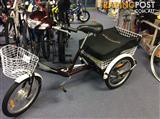 TEBCO TRANSPORTER ADULT ELECTRIC TRICYCLE.