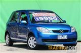 2006 MAZDA MAZDA2 NEO DY MY05 UPGRADE HATCHBACK