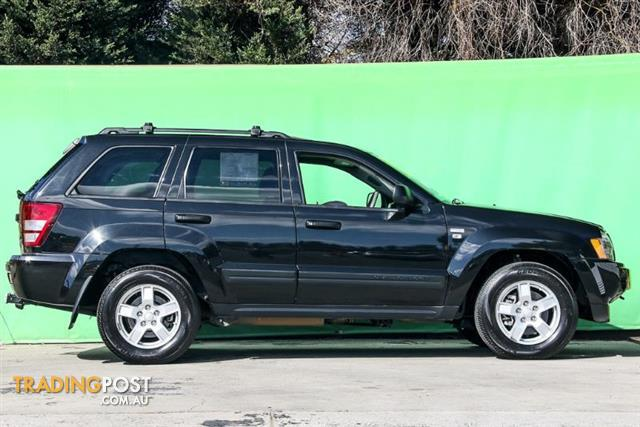 2008 jeep grand cherokee limited wh wagon for sale in ringwood vic 2008 jeep grand cherokee. Black Bedroom Furniture Sets. Home Design Ideas
