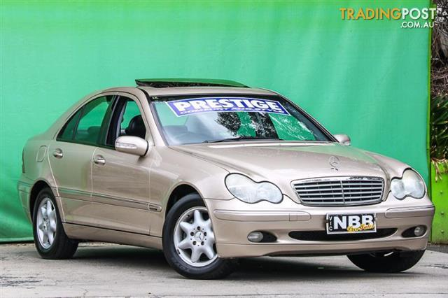 2002 mercedes benz c200 kompressor elegance w203 sedan for sale in ringwood vic 2002 mercedes. Black Bedroom Furniture Sets. Home Design Ideas