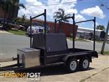 Concreters Trailer PHOENIX TRAILERS - Half Builders Concrete Tradie Trailer - Finance Available