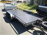 15 FT CAR TRAILER WITH SIDE RAILS $3695